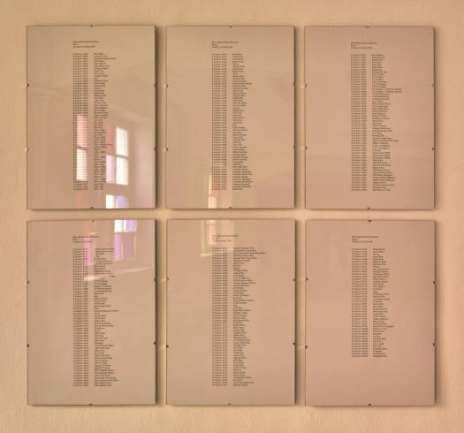 Score for 'Film (Künstlerhaus Bremen),' ©Margaret Honda 2016